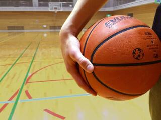 Basketball up close
