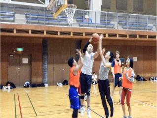 play basketball in abiko sumiyoshi