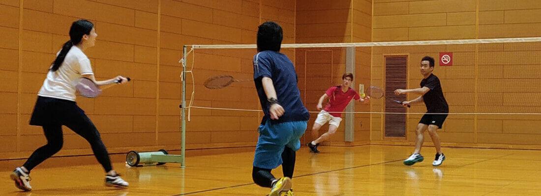 Badminton is fun